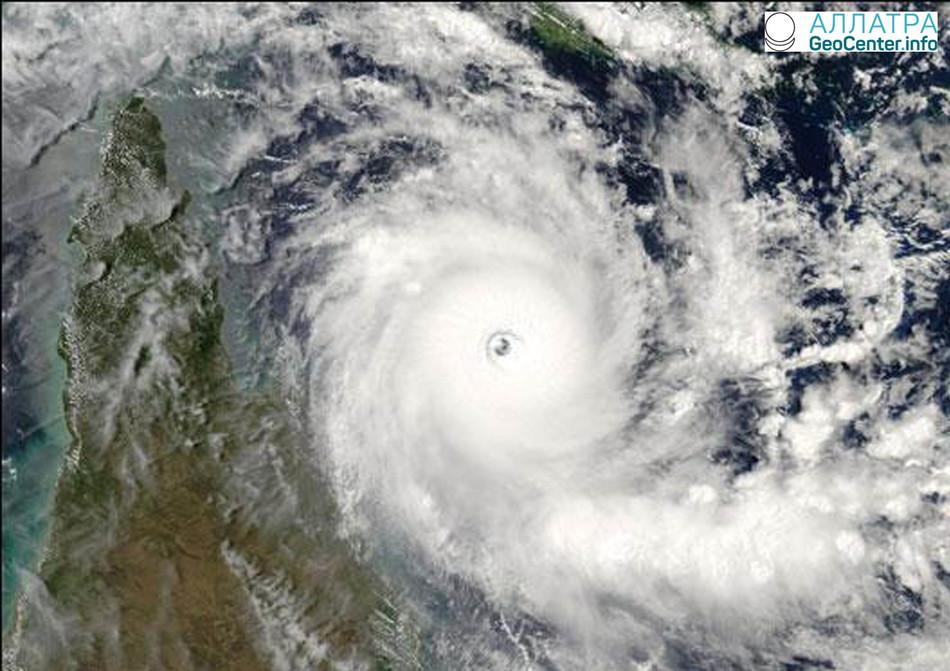 Балканский циклон в Поволжье и Прикамье, март 2018 г.