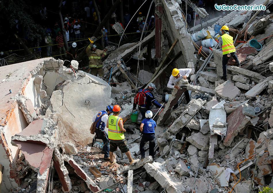 Серия мощных землетрясений в Мехико, 18-20 сентября 2017 года