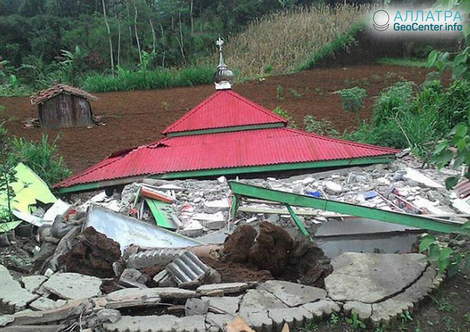 Землетрясение в Индонезии 18 апреля 2018 г.