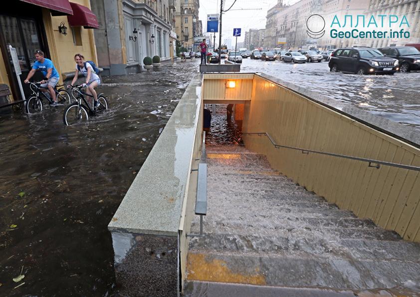 Наводнений, возможно, станет больше. Предположения ученых из КНР, октябрь 2018 года