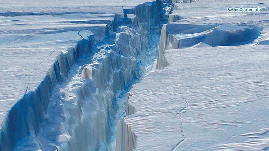 Антарктида идет на слом, август 2016