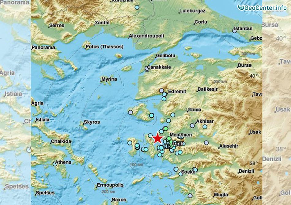 Серия землетрясений в Турции, 25-27 декабря 2017 года