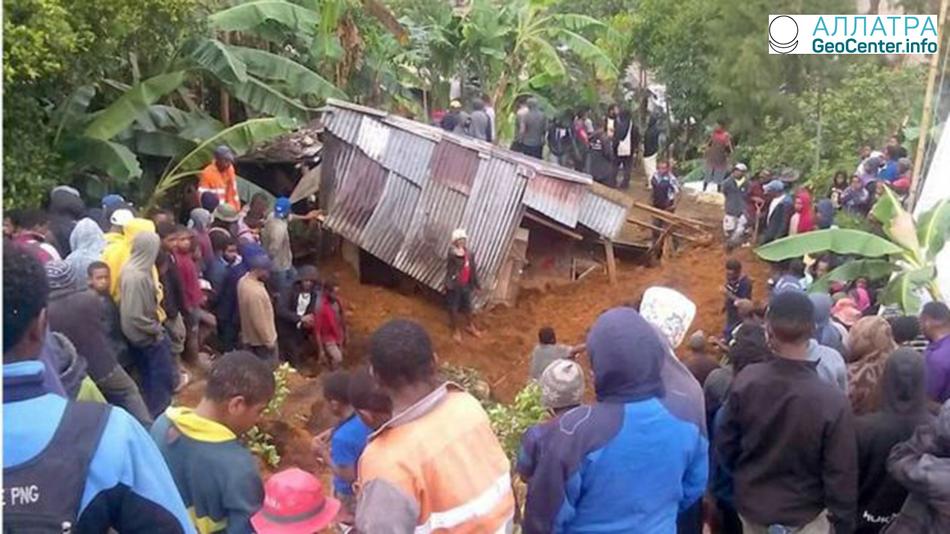 В Папуа-Новая Гвинея очередное землетрясение, 5 марта 2018