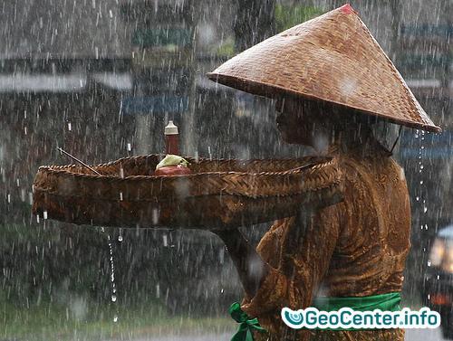 Индонезия. Затопления на Бали