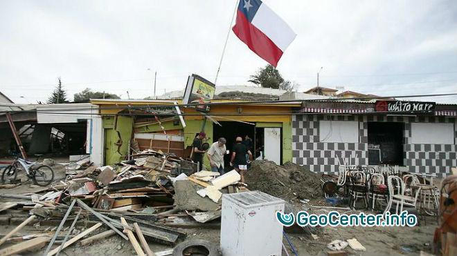 Землетрясение магнитудой 6,1 произошло  у берегов Чили
