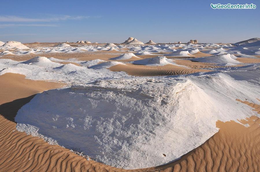 Пустыня Сахара: вместо песка теперь снег