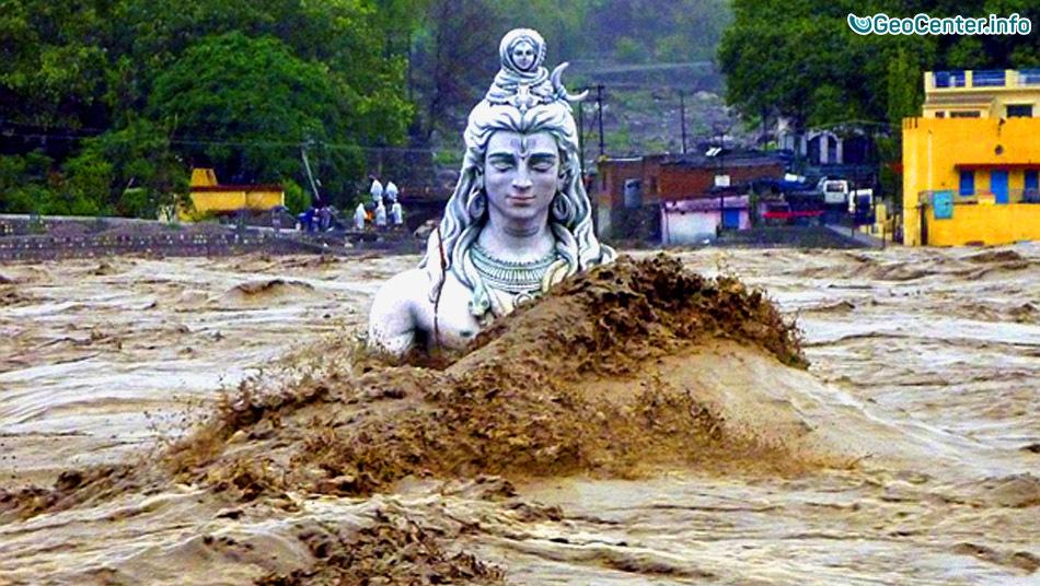 Сильное наводнение в Индии, август 2016
