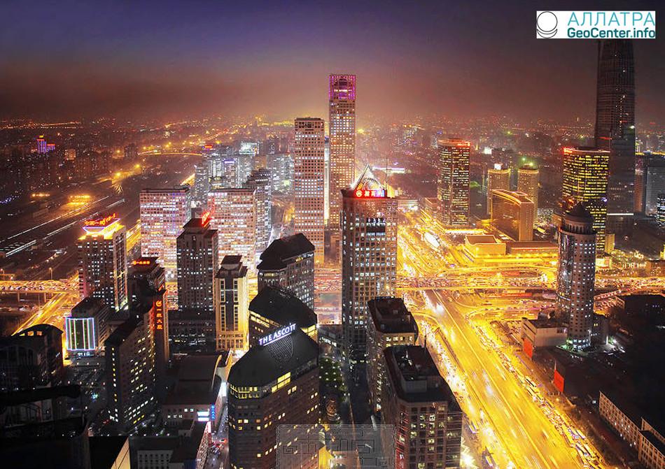 Апрельский снег к Пекине