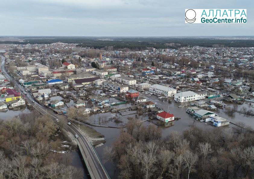 Паводок в Волгоградской области, апрель 2018