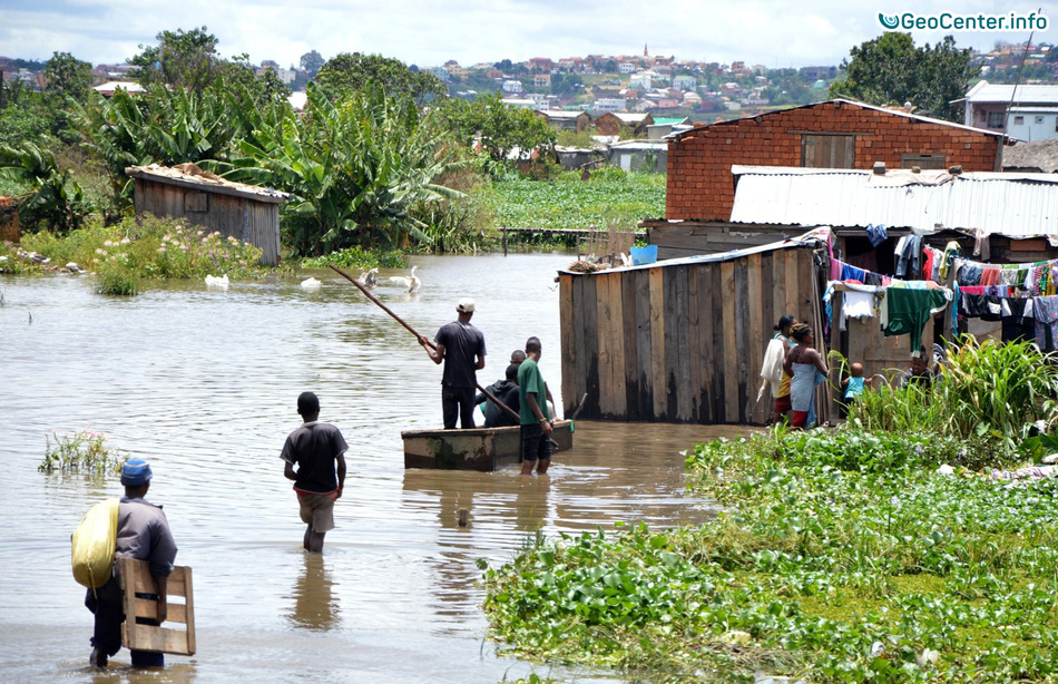 "Циклон ""Энаво"" на Мадагаскаре"
