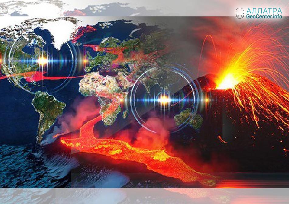 Новости про активность вулканов по всему миру, апрель 2018 года