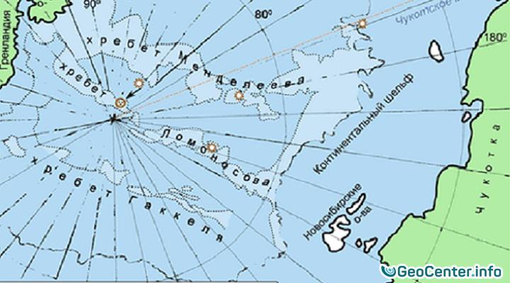 Землетрясение на подводных вулканах в Северном Ледовитом океане 22 октября