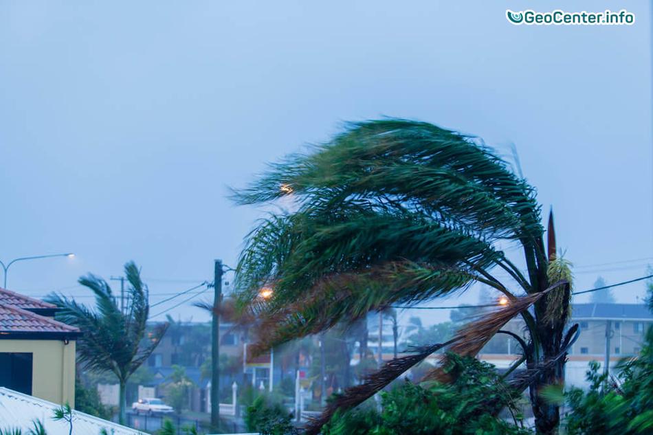 Тропический шторм «Джулия» обрушился на США в сентябре 2016 года