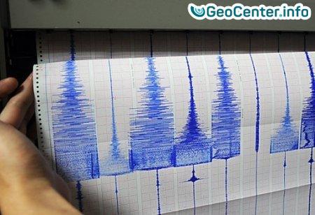 Землетрясение магнитудой 5,5 в Казахстане