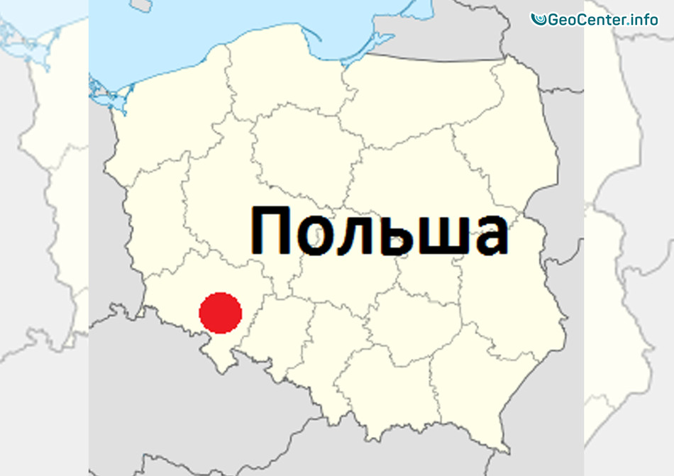 Землетрясение в Польше магнитудой 4,8, декабрь 2017