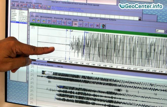Землетрясение магнитудой 5.9 у берегов Северной Кореи