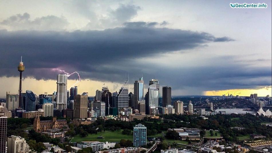 Мощный шторм в Сиднее, Австралия, март 2017 года