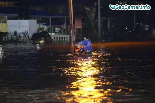 Наводнение в западных районах Малайзии
