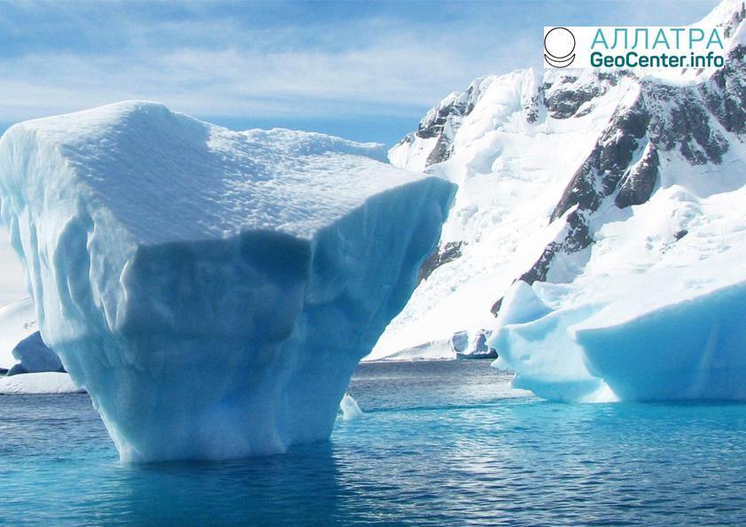 Площадь ледяного покрова Антарктиды сокращается, апрель 2018