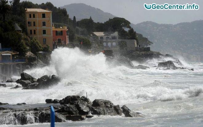 Север Италии пострадал от сильного шторма