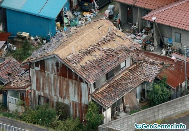 Землетрясение магнитудой 6,6 на юго-западе японского острова Хонсю