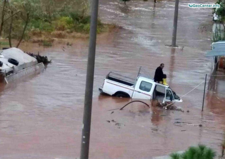 Климатические происшествия в Турции, 5 ноября 2017 года