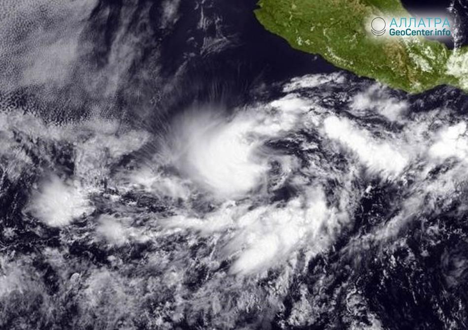 Тропический шторм «Бад», 10-11 июня 2018 г.