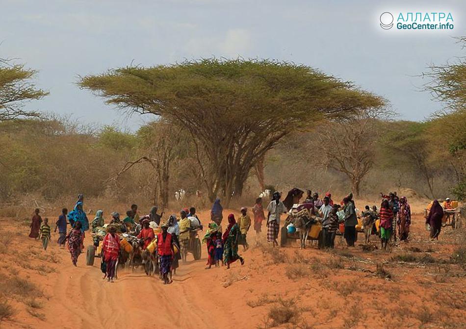 Восточная Африка. Последствия апрельского наводнения в Сомали.
