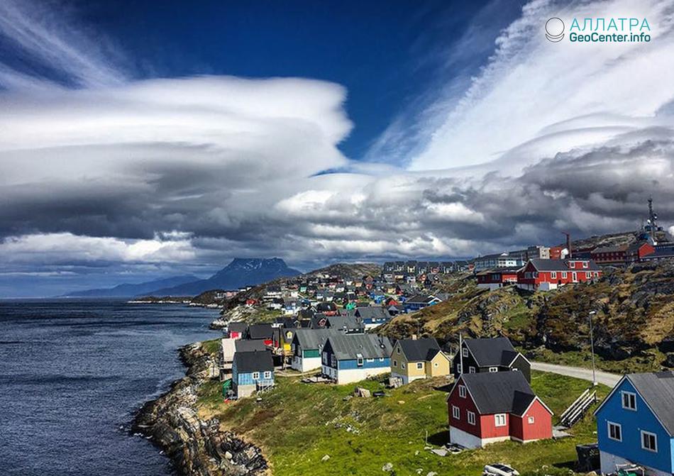 Землетрясение в Гренландии, июнь 2018 г.