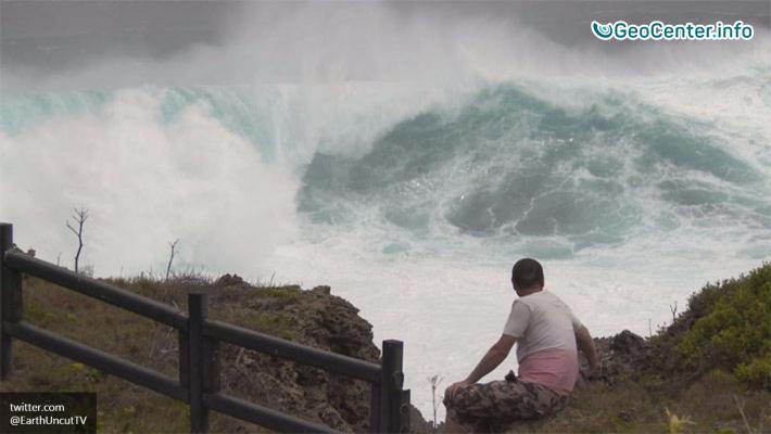 Супертайфун Меранти – самый сильный в 2016 году