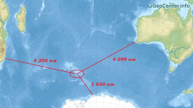 Активность вулкана Моусон (Австралия) начала возрастать