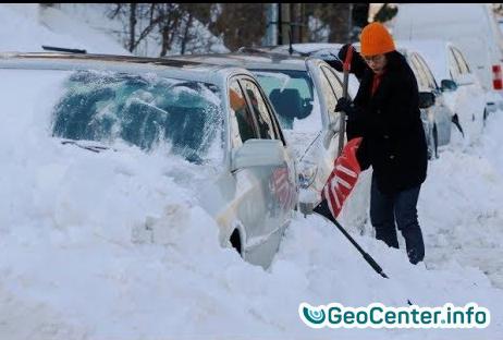 Морозы в Америке аномальный холод США.