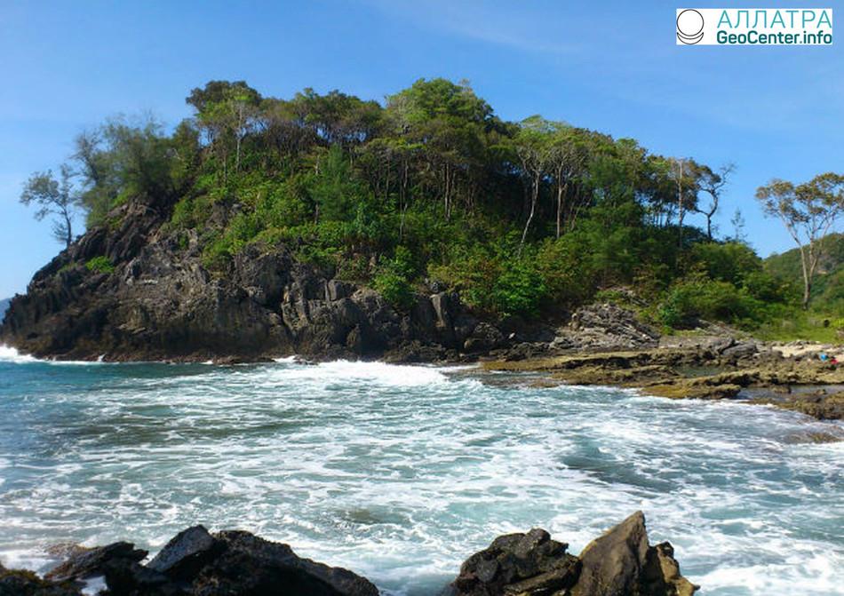 Землетрясение магнитудой 5,3 произошло у берегов Индонезии, февраль 2018 г.