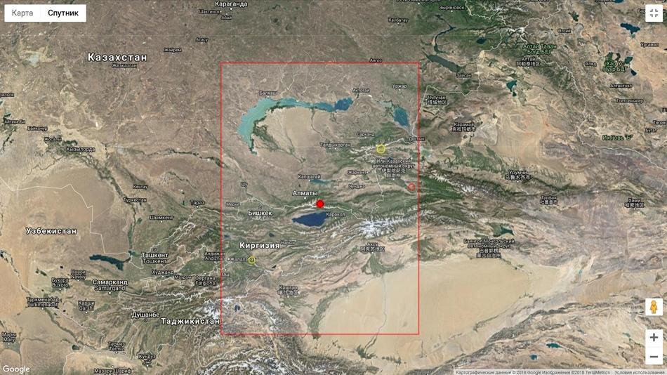 Землетрясение в Казахстане 31 августа 2018 года