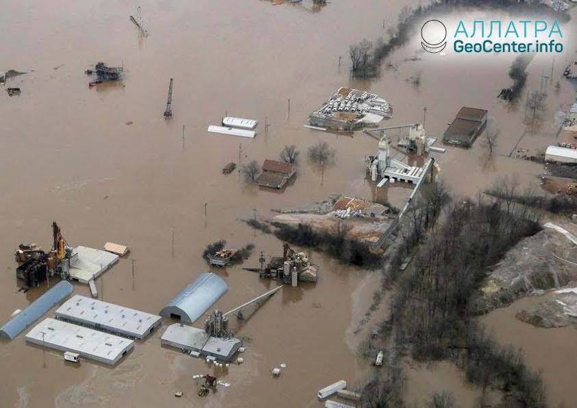 Наводнение в Кувейте, ноябрь 2018