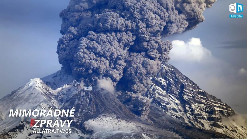 Globální změna klimatu → VÝZVA NEBO ROZSUDEK? → Aktivace vulkánů, propady země, bouře, tornáda