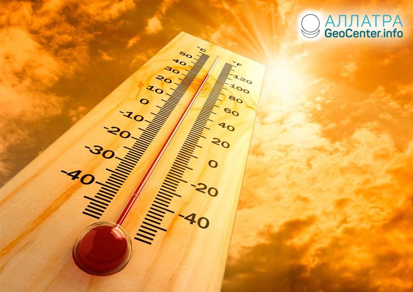 Июнь стал самым жарким месяцем, 2019