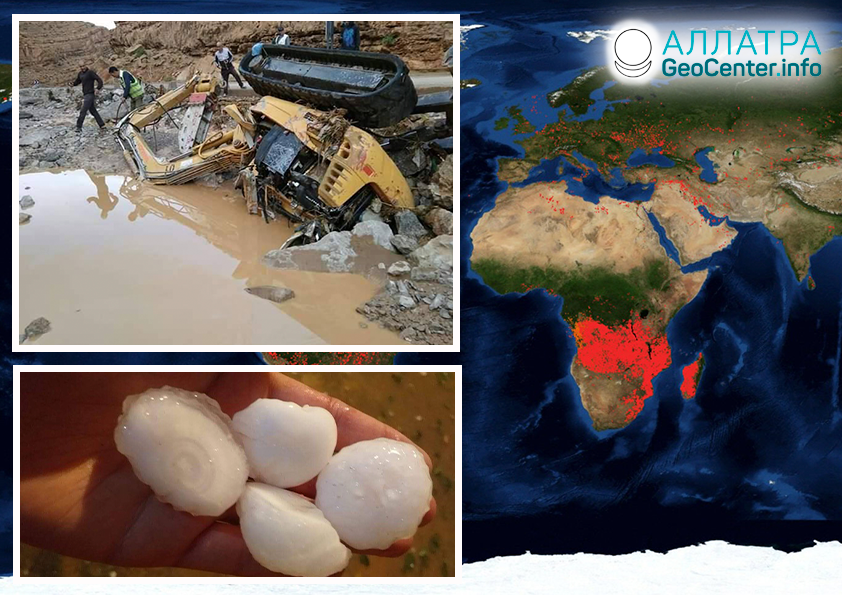 Kataklizmy v Afrike, september 2019
