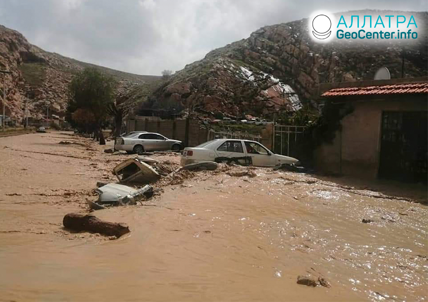 Kataklizmy v krajinách Afriky, marec 2020