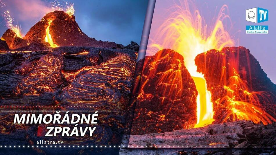 Kataklyzmy se stupňují. Probuzení starověké sopky na Islandu. Nejsilnější povodně v Austrálii