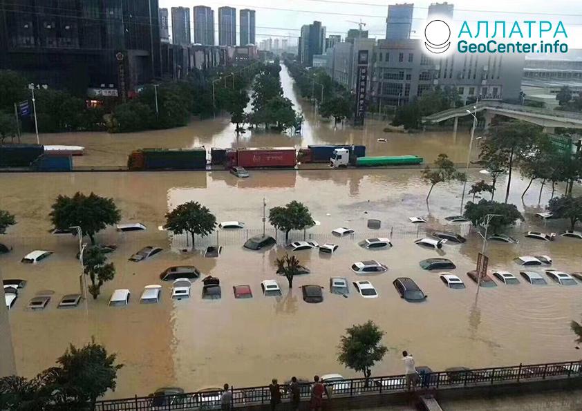 Katastrofické povodne v krajinách sveta, máj 2020