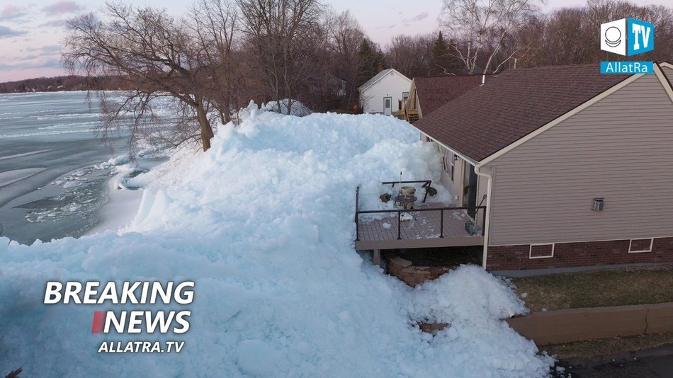 Climatic disasters are everywhere! Ice tsunami in the United States. Flood → Canada, Brazil, India, Vietnam | April 2020