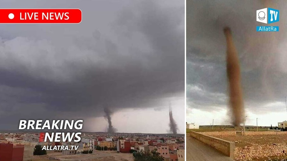 Climate chaos Tornadoes in Africa. Floods and landslides in South America. Storms in India