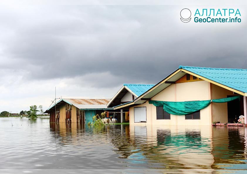 Сильное наводнение в Малайзии, ноябрь 2018