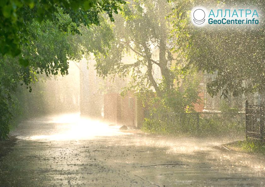 Silné deště ve Francii, červen 2019