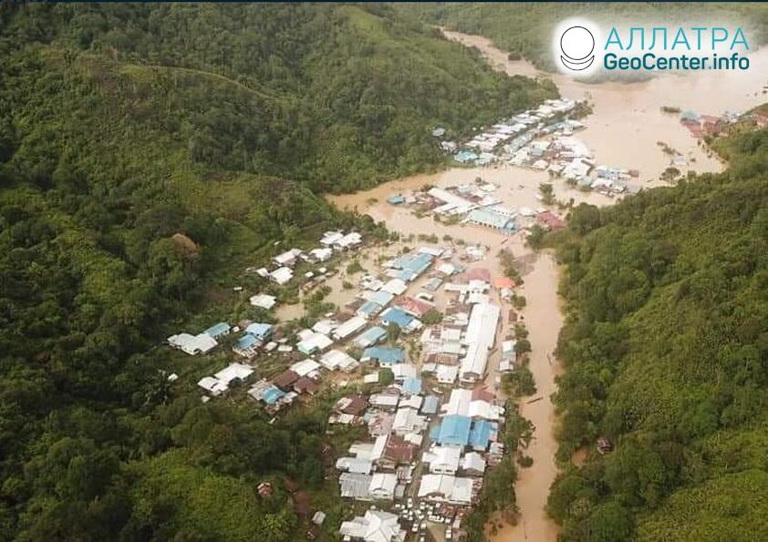 Rozsáhlé záplavy v Malajsii, červen 2019