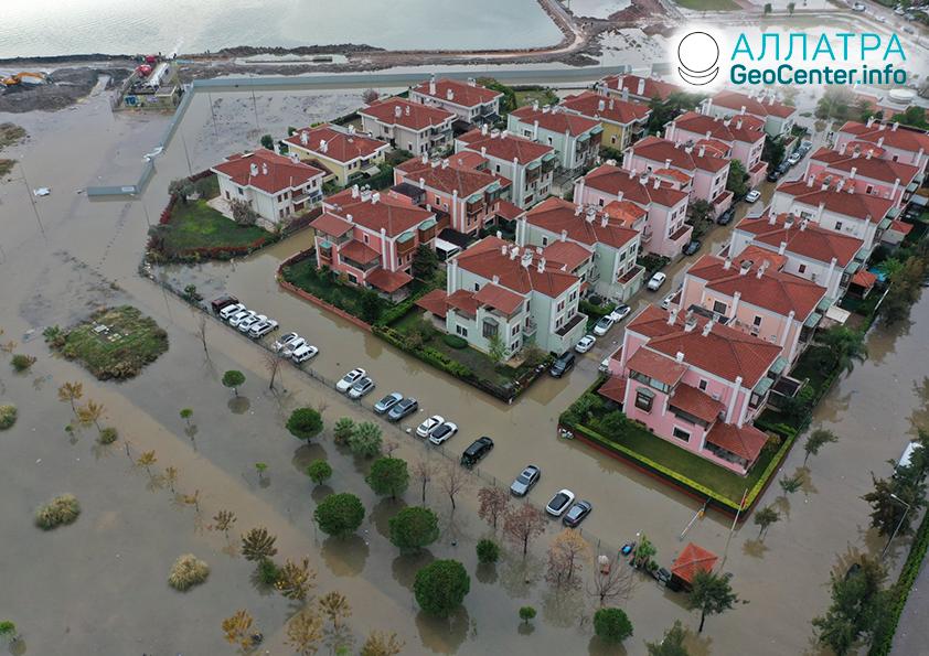 Масштабные наводнения на планете, декабрь 2020