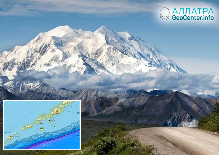 Мощное землетрясение на Аляске (США), 31 декабря 2018