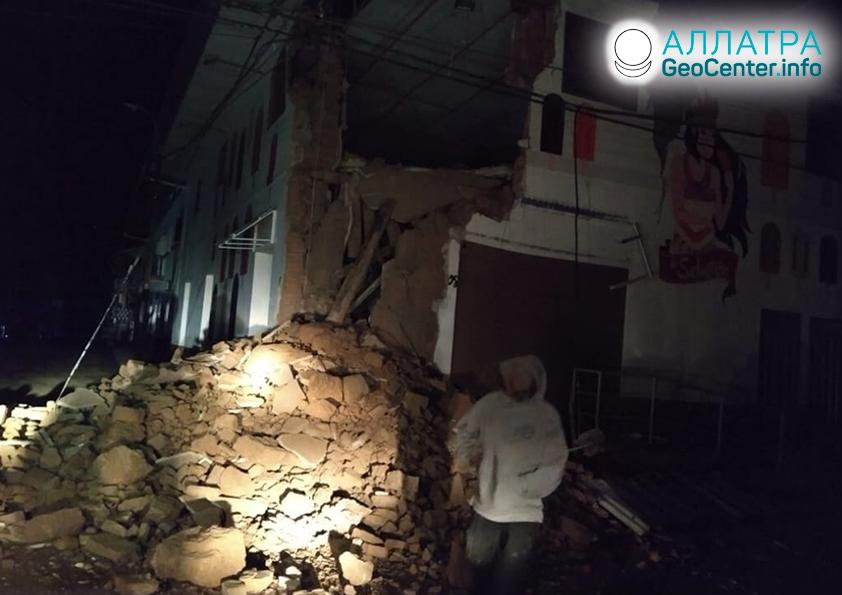 Destruktivní zemětřesení v Peru 26. května 2019