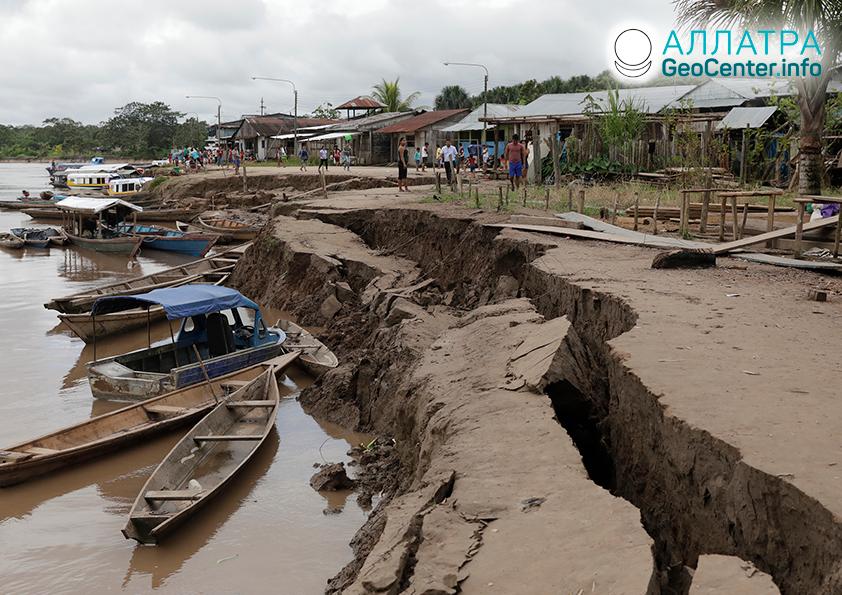 Разрушительное землетрясение в Перу 26 мая 2019